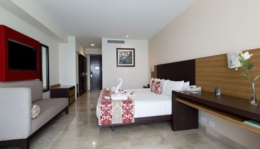Chambre romantique Hôtel Krystal Cancún Cancún