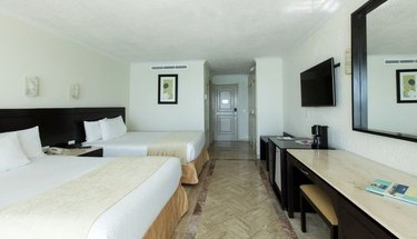 Chambre double standard Hôtel Krystal Cancún Cancún