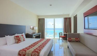 Chambre king Krystal club Hôtel Krystal Cancún Cancún