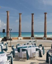 Sept colonnes Hôtel Krystal Cancún Cancún